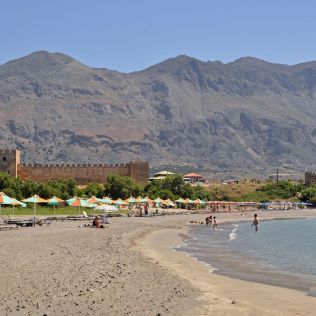 Fragokastelo Beach